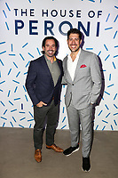 Christopher T. Gialanella and Matthew Salinas attend the House of Peroni LA Opening Night on October 18th, 2017. (Liliane Lathan/Guest of a Guest)