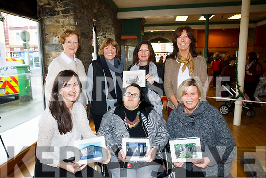 Staff from Glebe Lodge attending the Castleisland Camera club Photo Exhibit and Coffee morning in aid of Glebe Lodge on Saturday morning last in Castleisland.
