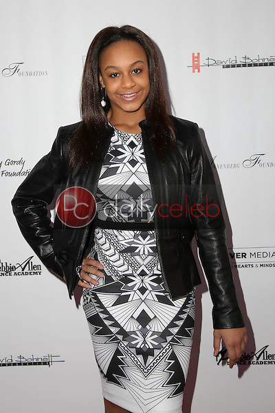 Nia Sioux Fisher<br /> at Debbie Allen's &quot;Freeze Frame&quot; U.S. Premiere, Wallis Annenberg Center for the Performing Arts, Beverly Hills, CA 02-04-16<br /> David Edwards/DailyCeleb.Com 818-249-4998