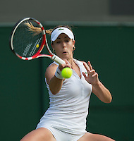 ALIZE CORNET (FRA)<br /> <br /> The Championships Wimbledon 2014 - The All England Lawn Tennis Club -  London - UK -  ATP - ITF - WTA-2014  - Grand Slam - Great Britain -  28th June 2014. <br /> <br /> &copy; AMN IMAGES