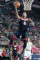USA's Derrick Rose during 2014 FIBA Basketball World Cup Quarter-Finals match.September 9,2014.(ALTERPHOTOS/Acero)