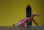 UNE SORTE DE....Choregraphie : EK Mats..Decor : GEBER Maria..Lumiere : RUGE Ellen..Costumes : GEBER Maria..Avec :..LE RICHE Nicolas..DANIEL Nolwenn..Lieu : Opera Garnier..Ville : Paris..Le : 25 04 2008..Copyright (c) 2008 by © Laurent Paillier/ www.photosdedanse.com. All rights reserved.