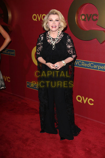 BEVERLY HILLS, CA - February 28: Joan Rivers at QVC 5th Annual Red Carpet Style Event, Four Seasons, Beverly Hills,  February 28, 2014.  <br /> CAP/MPI/JO<br /> &copy;Janice Ogata/MediaPunch/Capital Pictures