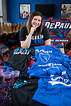 Anna Gleyzer, a senior majoring in marketing with concentrations in sales leadership and category management and a minor in hospitality, is a committee chair for Blue Demon Week 2018. (DePaul University/Jeff Carrion)