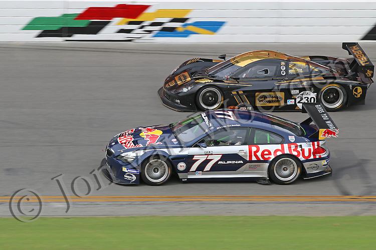 Red Bull Alpina B6 GT3 at HSR  Historic Sportscar Racing 2015 Classic 24 Hour at Daytona