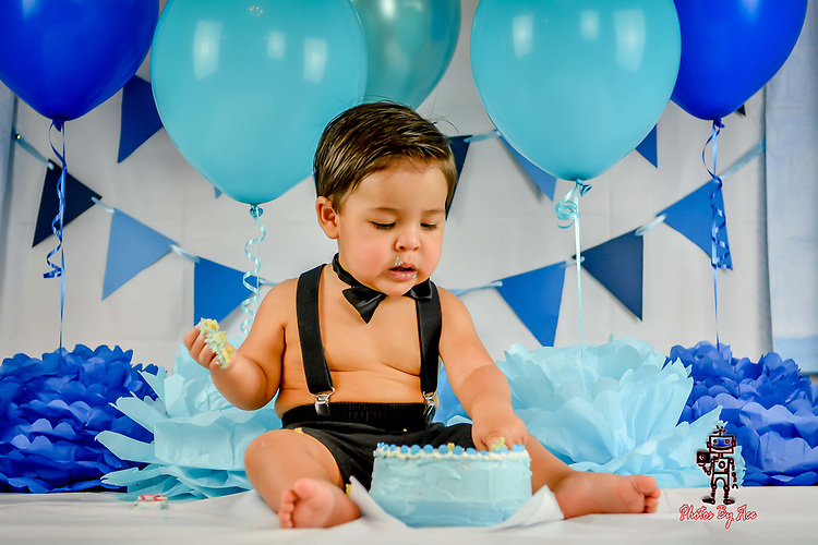 Baby Gianni's Cake Smash Session
