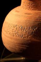 Cerâmica de origens diversas em exposição no Museu do Forte do Castelo.<br /> Foto Carlos Borges