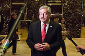 Following his meeting with United States President-elect Donald Trump, Governor Terry Branstad (Republican of Iowa) speaks to the press in the lobby of Trump Tower in New York, New York, USA on December 6, 2016. <br /> Credit: Albin Lohr-Jones / Pool via CNP