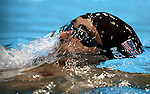 LONDON, ENGLAND - JULY 28:  Michael Phelps of the USA swims to a fourth place finish in the Men's 400M Individual Medley Final during Day 2 of the Swimming Finals as part of the London 2012 Olympic Games on July 28, 2012 at the Aquatics Center in London, England. (Photo by Donald Miralle)