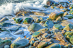 Incoming tide near Schoodic Point in Acadia National Park, Maine, USA