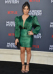 "Chrissie Fit 025 arrives at the LA Premiere Of Netflix's ""Murder Mystery"" at Regency Village Theatre on June 10, 2019 in Westwood, California"