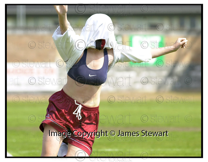 6th May 2000               Copyright Pic : James Stewart .Ref :                           .File Name : stewart07-ladies cup final                        .STENNY'S KAREN PENGLASE CELEBRATES SCORING THE SECOND GOAL.....Payments to :-.James Stewart Photo Agency, Stewart House, Stewart Road, Falkirk. FK2 7AS      Vat Reg No. 607 6932 25.Office : +44 (0) 1324 630007   Mobile : 07721 416997.Fax     : +44 (0) 1324 630007.E-mail : jim@jspa.co.uk.If you require further information then contact Jim Stewart on any of the numbers above.........