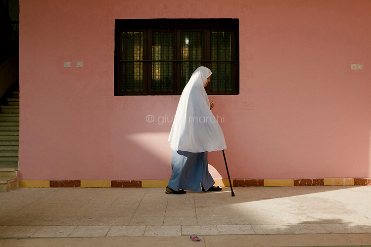 Egypt / Zagazig / 15.12.2012 / An Egyptian woman in a polling center in Zagazig. Tens of thousands of people descended on polling stations across Egypt to vote on the highly controversial draft constitution, which has been a source of intense political protest in recent weeks. © Giulia Marchi