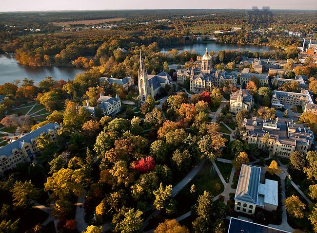 God Quad aerial..Photo by Matt Cashore/University of Notre Dame