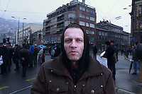 Sarajevo - najveci otvoreni logor na svjetu vec 20 godina. EU se mi ne svidza jer je vise kapitalisticka nego socialisticka. / Sarajevo - the biggest open concentration camp in the world, already for 20 years. I don't like the EU, because it's more capitalistic then socialistic.