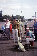 Honolulu, Hawaii, June 1969. American-Japanese war film that dramatises the Japanese attack on Pearl Harbor. Photo of the director  Richard Fleischer.