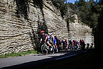 Action from Stage 6 of the 78th edition of Paris-Nice 2020, running 161.5km from Sorgues to Apt, France. 13th March 2020.<br /> Picture: ASO/Fabien Boukla | Cyclefile<br /> All photos usage must carry mandatory copyright credit (© Cyclefile | ASO/Fabien Boukla)