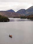 Fishing on the Upper Lake, Killarney.Picture by Don MacMonagle.
