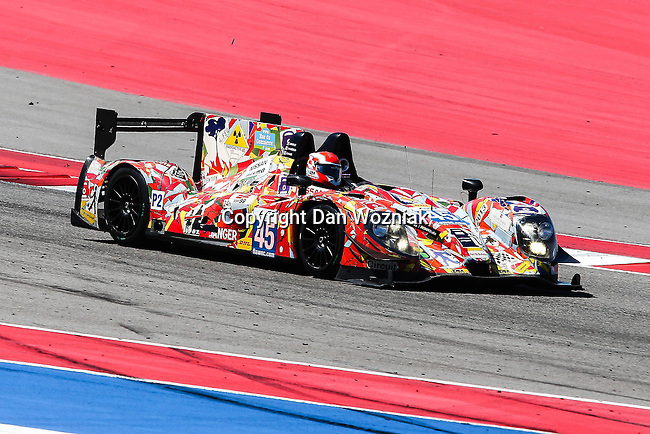 Jacques Nicolet (45), Oak Racing driver in action during the World Endurance Championship Race (FIA/WEC) at the Circuit of the Americas race track in Austin,Texas.