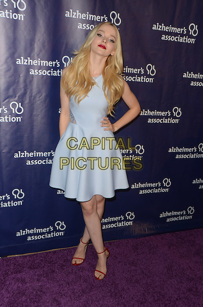 BEVERLY HILLS, CA: MARCH 9: Dove Cameron at the 24th and final 'A Night at Sardi's' to benefit the Alzheimer's Association at The Beverly Hilton Hotel on March 9, 2016 in Beverly Hills, California. <br /> CAP/MPI/DE<br /> &copy;DE//MPI/Capital Pictures