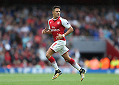 9th September 2017, Emirates Stadium, London, England; EPL Premier League Football, Arsenal versus Bournemouth; Alexis Sanchez of Arsenal subbed on for Danny Welbeck of Arsenal