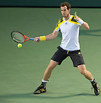 Andy Murray (GBR) defeats Richard Gasquet (FRA) 6-7, 6-1, 6-2 at the Sony Open being played at Tennis Center at Crandon Park in Miami, Key Biscayne, Florida on March 29, 2013