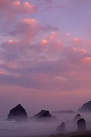 Seastacks and Cape Sebastian<br /> Pistol River State Park<br /> Curry County<br /> Oregon