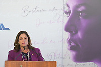 BRASÍLIA, DF, 27.11.2018 – AGENDA-TEMER – A deputada Soraya Santos durante Cerimônia de Enfrentamento à Violência Contra a Mulher na tarde desta terça-feira, 27, no Palácio do Planalto.  (Foto: Ricardo Botelho/Brazil Photo Press/Folhapress)