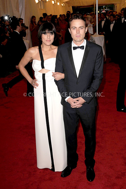 "WWW.ACEPIXS.COM . . . . . .May 7, 2012...New York City.....Summer Phoenix and Casey Affleck attending the ""Schiaparelli and Prada: Impossible Conversations"" Costume Institute Gala at The Metropolitan Museum of Art in New York City on May 7, 2012  in New York City ....Please byline: KRISTIN CALLAHAN - ACEPIXS.COM.. . . . . . ..Ace Pictures, Inc: ..tel: (212) 243 8787 or (646) 769 0430..e-mail: info@acepixs.com..web: http://www.acepixs.com ."