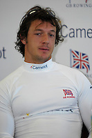 Reading, GREAT BRITAIN, Steve WILLIAMS, GB Rowing 2007 FISA World Cup Team Announcement, at the GB Training centre, Caversham, England on Thur. 26.04.2007  [Photo, Peter Spurrier/Intersport-images]..... , Rowing course: GB Rowing Training Complex, Redgrave Pinsent Lake, Caversham, Reading