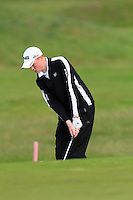 Robin Dawson (Faithlegg) on the 11th during Round 3 of The Irish Amateur Open Championship in The Royal Dublin Golf Club on Saturday 10th May 2014.<br /> Picture:  Thos Caffrey / www.golffile.ie