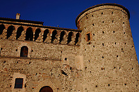 Graffignano: Here is a corner of the Baglioni castle, with its tower, that dates back to the XIII century.<br />