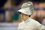 Kota Arai (JPN),<br /> AUGUST 5, 2013 - Fencing :<br /> World Fencing Championships Budapest 2013, Men's Individual Sabre Qualifications at Syma Hall in Budapest, Hungary. (Photo by Enrico Calderoni/AFLO SPORT) [0391]