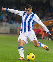 Real Sociedad's Chory Castro during La Liga match.November 23,2013. (ALTERPHOTOS/Mikel)