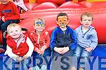 Ruri O'Callaghan, Rian Lynch, Sean Power and Fionan O'Callaghan at the Ardfert Poultry Sale Fair on the Green Ardfert on Sunday