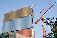 The under construction MGM Grand in Macau.<br /> May 08, 2007