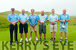 Kerry Federation Golf Sheild: The Castlegregory GC team that took part in the Kerry Federation Golf Sheild at Ballybunion Golf club on Saturday last. L-R: Eddie Hannifan, Tommy King, Mike Mercer, Sean O'Connell, Pat Doody & Pat Mulcahy.