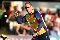 Simon Harmer of Essex during Essex Eagles vs Somerset, Vitality Blast T20 Cricket at The Cloudfm County Ground on 7th August 2019