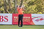 Justin Walters of South Africa tees off hole 2 during the 58th UBS Hong Kong Open as part of the European Tour on 08 December 2016, at the Hong Kong Golf Club, Fanling, Hong Kong, China. Photo by Vivek Prakash / Power Sport Images