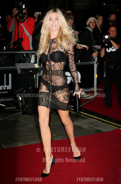 Abbey Clancy arriving for the 2011 GQ Awards, Royal Opera House, London. 06/09/2011  Picture by: Alexandra Glen / Featureflash
