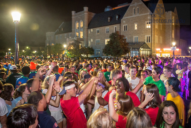 Aug. 22, 2015; DomerFest 2015 (Photo by Matt Cashore/University of Notre Dame)