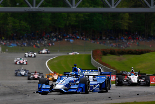 2017 Verizon IndyCar Series<br /> Honda Indy Grand Prix of Alabama<br /> Barber Motorsports Park, Birmingham, AL USA<br /> Sunday 23 April 2017<br /> Tony Kanaan, Chip Ganassi Racing Teams Honda<br /> World Copyright: Phillip Abbott<br /> LAT Images<br /> ref: Digital Image abbott_barber_0417_7084