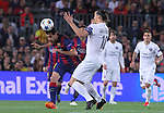 21.04.2015 Barceloona. UEFA Champions League, Quarter-finals 2nd leg. Picture show Sergio Busquets in action during game between FC Barcelona against Paris Saint-Germain at Camp Nou