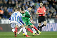 CD Leganes' Rodrigo Tarin (L) and Deportivo Alaves' Jony Rodriguez  during La Liga match. November 23,2018. (ALTERPHOTOS/Alconada) /NortePhoto.com