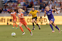 Houston, TX - Friday May 20, 2016: Denise O'Sullivan (13) of the Houston Dash. The Orlando Pride defeated the Houston Dash 1-0 during a regular season National Women's Soccer League (NWSL) match at BBVA Compass Stadium.