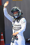 10.05.2014 Barcelona, Spain. F1 Spanish Grand Prix. Picture show Nico Rosberg (GER) Mercedes AMG Petronas F1 Team after finisher 2nd during qualifying at Circuit de Barcelona-Catalunya