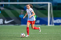 Boston, MA - Friday July 07, 2017: Vanessa DiBernardo during a regular season National Women's Soccer League (NWSL) match between the Boston Breakers and the Chicago Red Stars at Jordan Field.