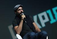 SAO PAULO, SP - 06.12.2018 - CCXP 2018 - O tor Caua Reymond durante a Comic Con 2018 na S&atilde;o Paulo Expo, na zona sul de S&atilde;o Paulo na tarde desta quinta-feira (06).<br /> (Foto: Fabricio Bomjardim / Brazil Photo Press )