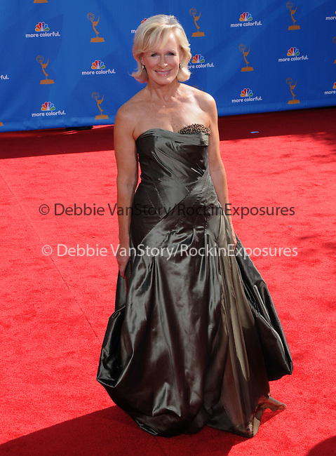 Glenn Close at The 62nd Anual Primetime Emmy Awards held at Nokia Theatre L.A. Live in Los Angeles, California on August 29,2010                                                                   Copyright 2010  DVS / RockinExposures