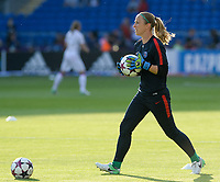 20170601 - CARDIFF , WALES : PSG's Loes Geurts pictured during a womensoccer match between the teams of  Olympique Lyonnais and PARIS SG, during the final of the Uefa Women Champions League 2016 - 2017 at the Cardiff City Stadium , Cardiff - Wales - United Kingdom , Thursday 1  June 2017 . PHOTO SPORTPIX.BE | DAVID CATRY